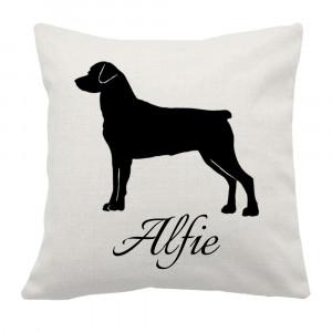 Poduszka z Psem - Rottweiler