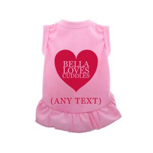 Różowa Sukienka Dla Psów...