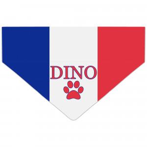 Bandanka z Flagą Francji