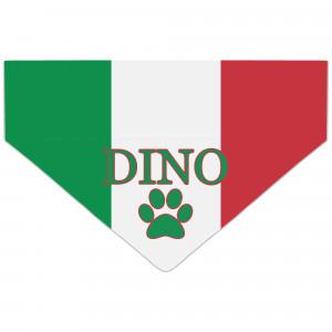 Bandanka z Flagą Włoch