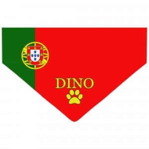 Bandanka z Flagą Portugalii