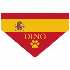 Bandanka z Flagą Hiszpanii