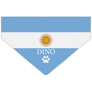 Bandanka z Flagą Argentyńską