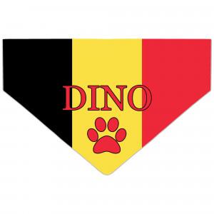 Bandanka z Flagą Belgii