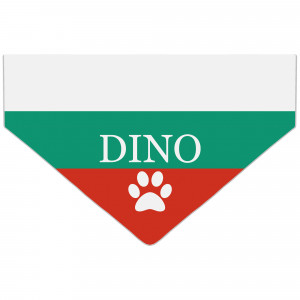 Bandanka z Flagą Bułgarii