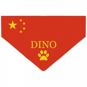 Bandanka z Flagą Chin