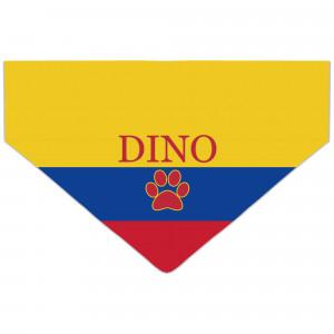 Bandanka z Flagą Kolombii