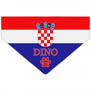Bandanka z Flagą Chorwacji