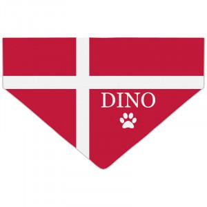 Bandanka z Flagą Danii