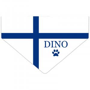 Bandanka z Flagą Finlandii