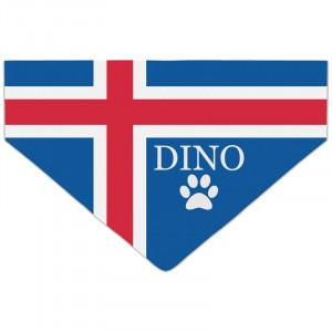 Bandanka z Flagą Islandii