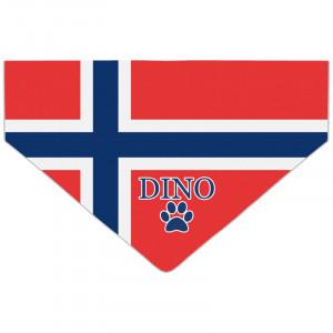 Bandanka z Flagą Norwegii