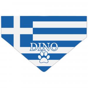 Bandanka z Flagą Grecji