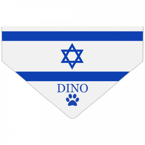 Bandanka z Flagą Izraela