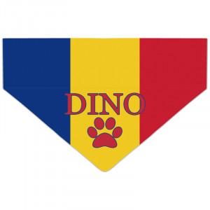 Bandanka z Flagą Rumunii