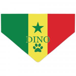 Bandanka z Flagą Senegalu