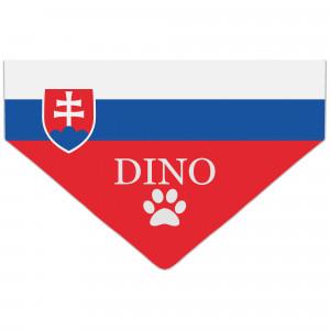 Bandanka z Flagą Słowacji