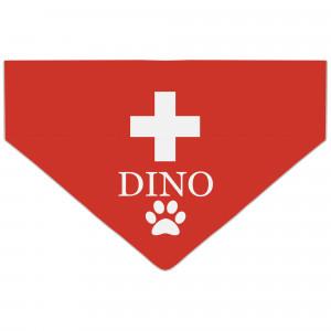 Bandanka z Flagą Szwajcarii