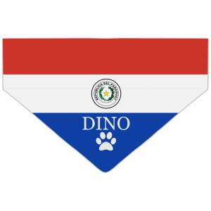 Bandanka z Flagą Paragwaju