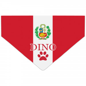 Bandanka z Flagą Peru