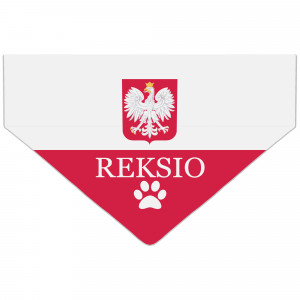Bandanka z Flagą Polski...
