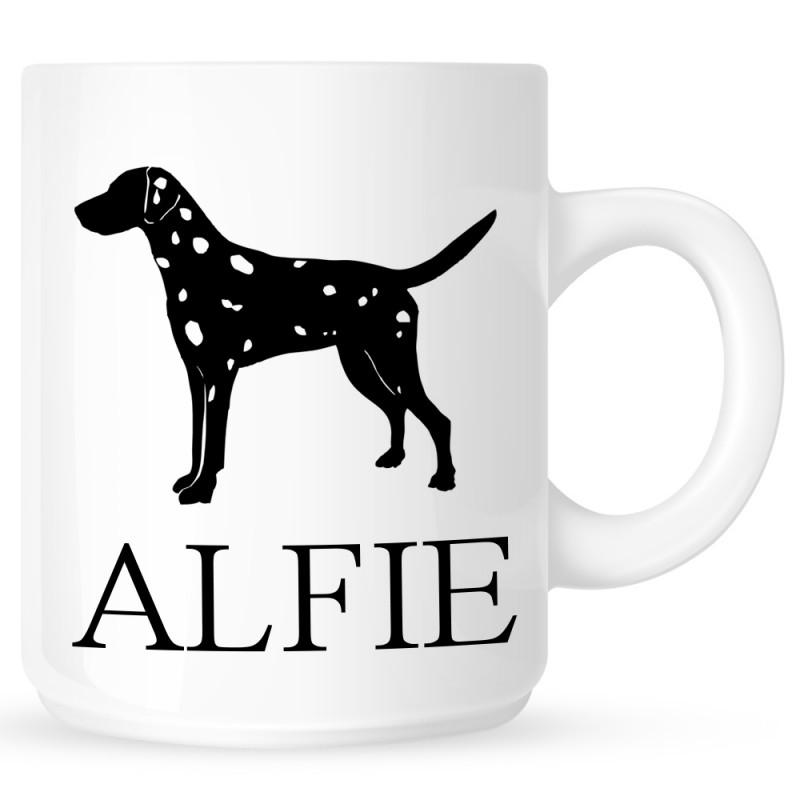Personalised Dalmatian Coffe Mug
