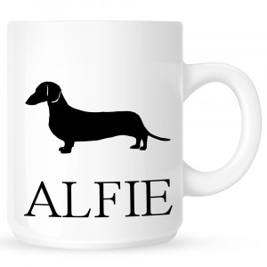 Personalised Dachshund Coffe Mug