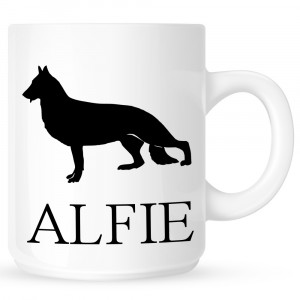 Personalised German Shepherd Coffe Mug