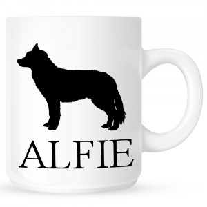 Personalised Husky Coffe Mug