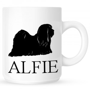 Personalised Lhasa Apso Coffe Mug