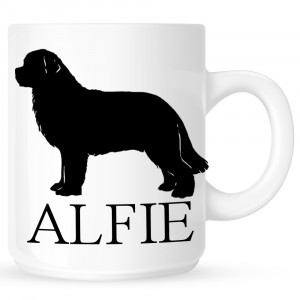 Personalised Newfoundland Coffe Mug