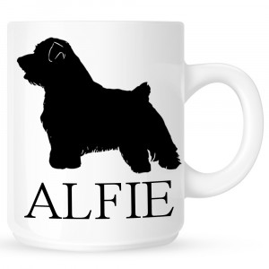 Personalised Norfolk Terrier Coffe Mug