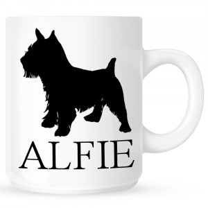 Personalised Norwich Terrier Coffe Mug