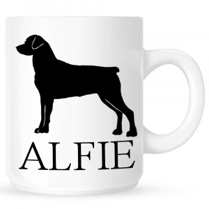 Personalised Rottweiler Coffe Mug