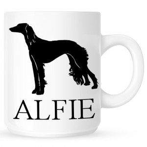Personalised Saluki Coffe Mug