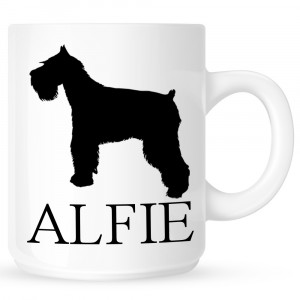 Personalised Schnauzer Coffe Mug