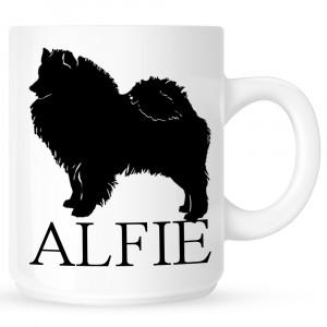 Personalised Siberian Husky Coffe Mug