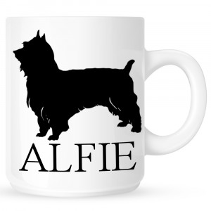 Personalised Silky Terrier Coffe Mug