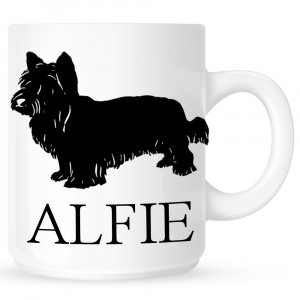 Personalised Skye Terrier Coffe Mug