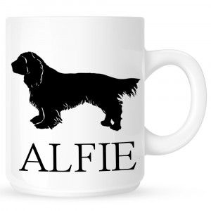 Personalised spaniel Coffe Mug