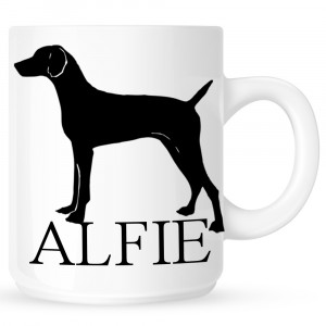 Personalised Vizsla Coffe Mug