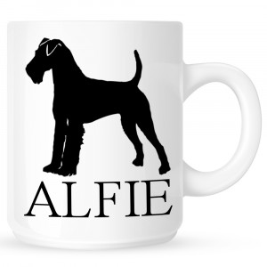 Personalised Welsh Terrier Coffe Mug