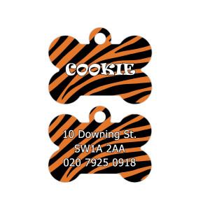 Adresówka z wzorem tygrysa